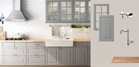 grey kitchen cabinets from ikea quicua