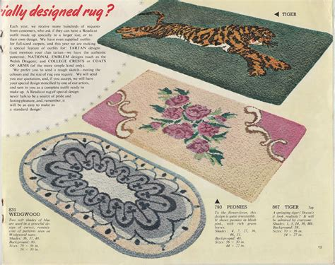 redicut rugs readicut book of rugs 1954