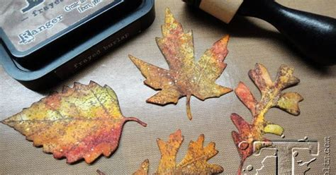 fallen leaves film how to create realistic looking fall leaves with distress