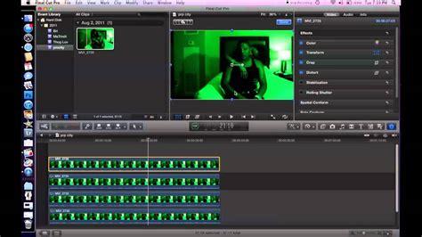 green screen tutorial final cut pro x final cut pro x quad split screen tutorial youtube