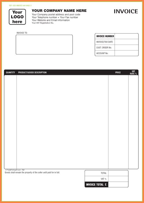 printable sales invoice free free printable sales receipt template yun56 co
