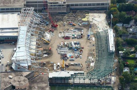 Tulane 5 Year Mba by Construction Well Underway On Tulane S Yulman Stadium