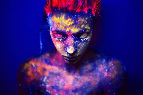 glow in the dark tattoos atlanta enter the surreal world of black light photography