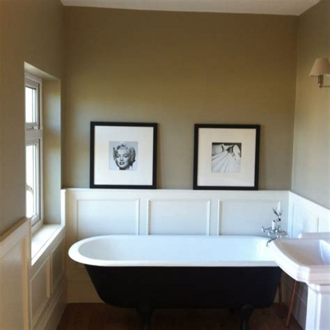farrow and bathroom ideas farrow and light gray on wall wainscoting farrow and