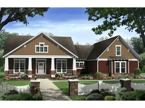beethoven arts and crafts home plan 077d 0192 house