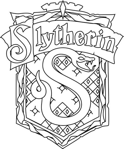harry potter coloring pages gryffindor free coloring pages of gryffindor house crest