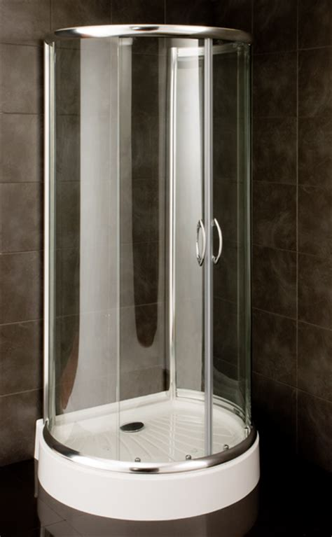 Ideal Standard Shower Baths waterlux 1000 x 860 d shape shower enclosure including