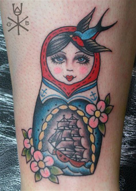 small russian doll tattoo russian doll tattoos