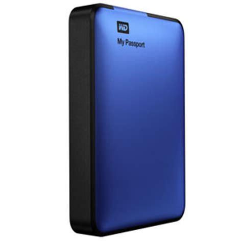 Wd 2tb Blue wd my passport 2tb portable external usb 3 0 drive storage blue wdby8l0020bbl