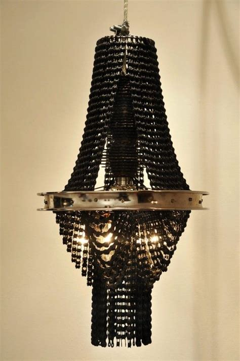 Bike Chain Chandelier Bicycle Chains Repurposed Into Chandeliers Randommization