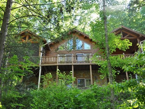 serenity falls retreat is a secluded cabin in vrbo