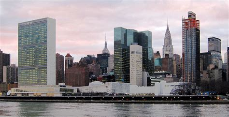 United Nations New York Mba by View From Roosevelt Island
