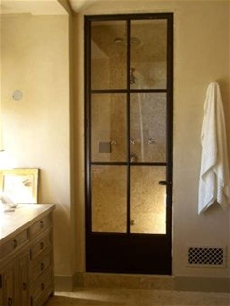 cool shower doors 1000 images about bathroom door on water spots etched glass and pocket doors