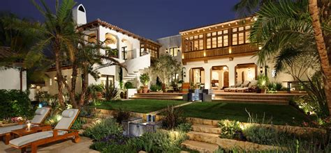 spanish revival estate home  southern californian