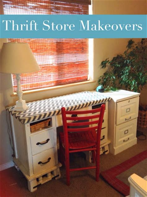 Thrift Store Couches by Thrift Store Desk And File Cabinet Makeovers Paint The