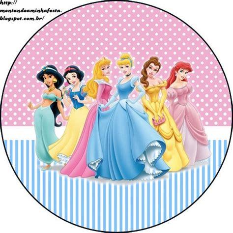 imagenes infantiles redondas etiquetas redondas de las princesas todo peques