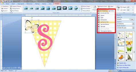 word 2013 clipart how to make a bunting banner in word with clip tips