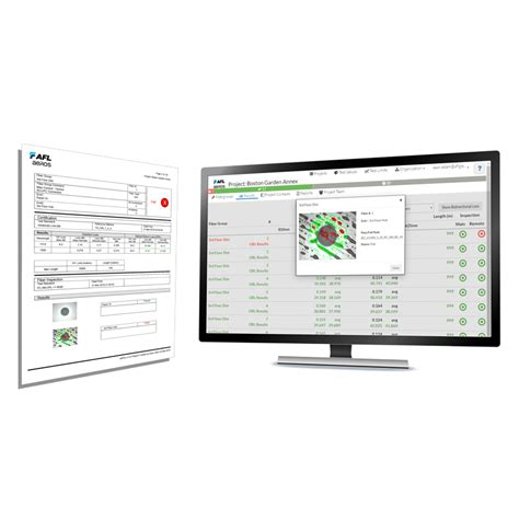 workflow management solution rogue modular test and inspection device with aeros cloud