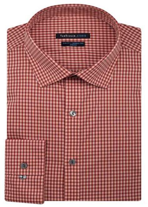 mens patterned vans mens shirt van heusen slim fit cotton rich easycare long