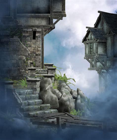 magic land digital fantasy backgrounds