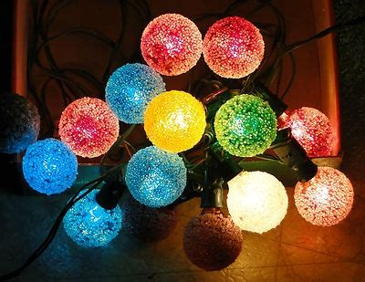 vinyage snowball lights pin by mima zima on decor ideas