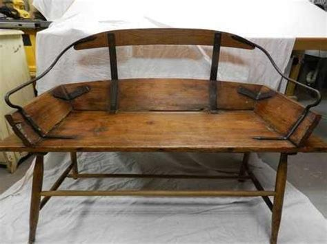 sleigh bench seat antique sleigh seat yakaz for sale farmhouse style