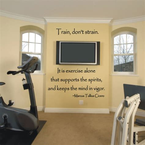 home exercise room decorating ideas modern wall decoration 11 simple diy wall decor ideas