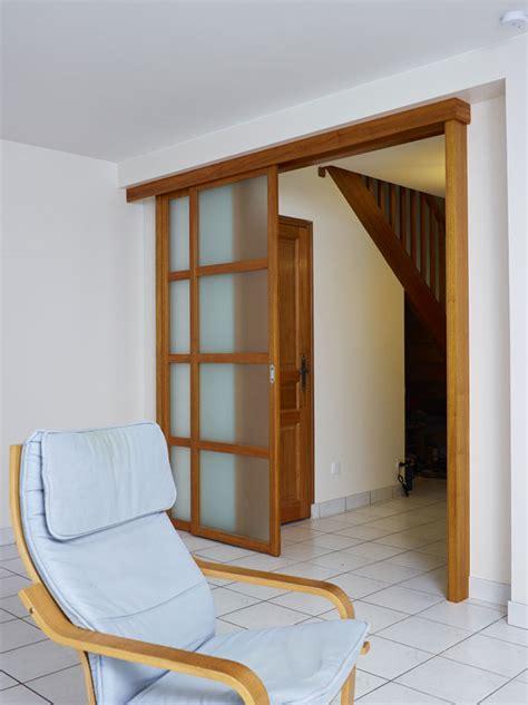 Porte Coulissante Separation De 1571 by Porte De S 233 Paration De Pi 232 Ces Sur Mesure Atelier Madec