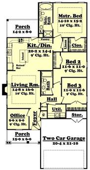 Row House Designs Small Lots - creativity and flexibility define narrow lot house plan styles