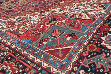 Heriz Rug Red Persian Heriz Rug 11 X 14
