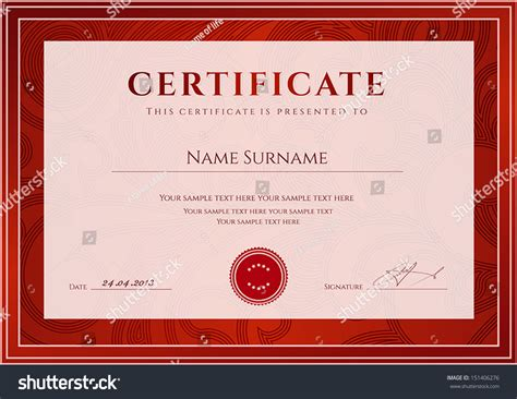 certificate scroll template certificate diploma completion design template background