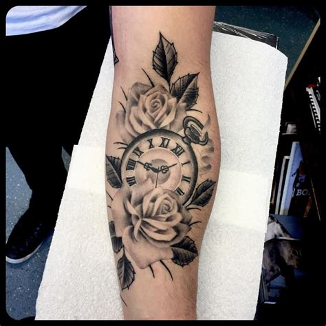 tattoo de rose best 25 clock and ideas on