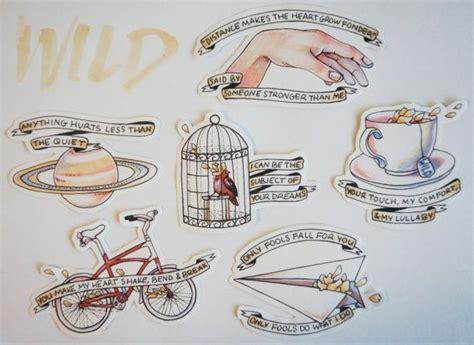 troye sivan tattoo troye sivan sticker set troye sivan