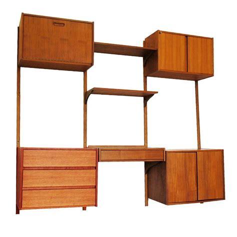 modular storage furnitures india modular danish modern teak cado wall unit after poul