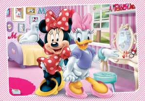 Wall Murals Tropical disney minnie and daisy characters giant wall mural