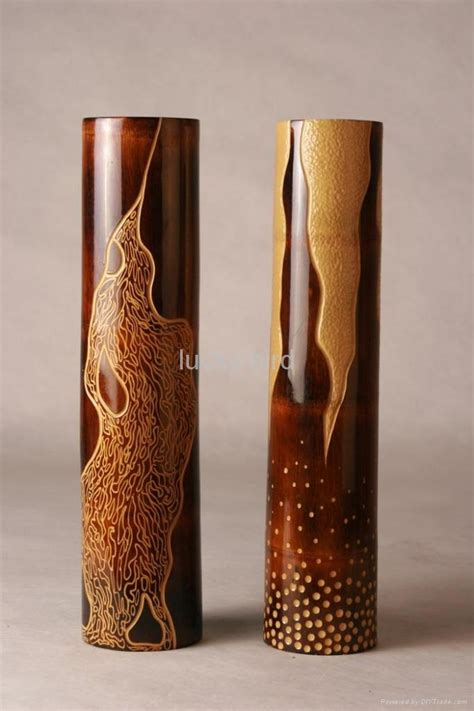 Vases Design Ideas. Bamboo Vase Natural Ideas Perfect