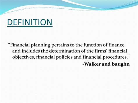 What Is The For Mba In Financial Planning by Financial Planning