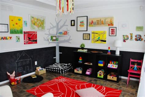 chalkboard paint ideas for playroom colorful playroom design with chalkboard walls kidsomania