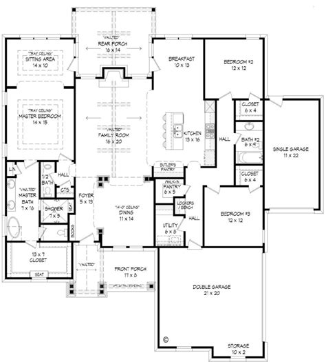 house plans with butlers pantry butlers pantry floor plans thefloors co