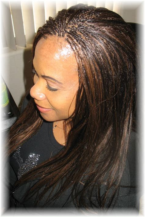 hairstyles invisible braids invisible braids with yaki straight hair weave invisible