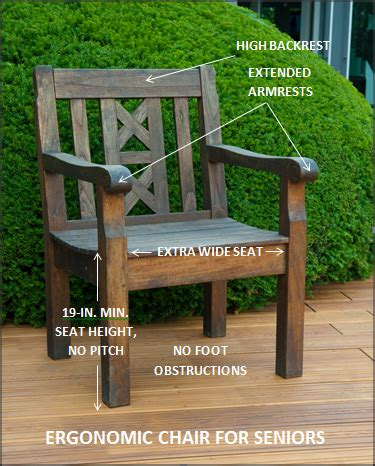 Outdoor Chair For Elderly by Designing Functional Outdoor Living Spaces Mcknight S