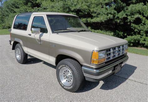 1989 ford bronco 1989 ford bronco ii xlt 4x4