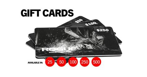 Fitness Gift Cards - gift cards rogue fitness