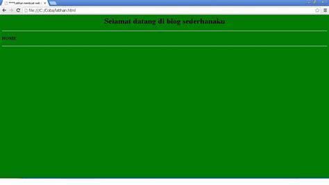 tutorial membuat website sederhana dengan html cara membuat web sederhana dengan notepad