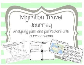 migration push pull factors migration travel journey