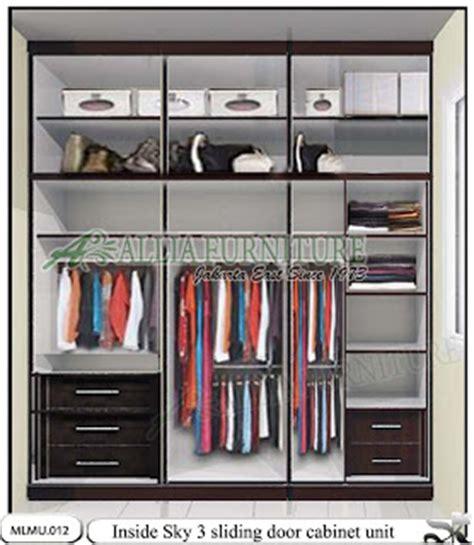 Lemari Dan Rak Dekorasi Kamar Tidur Type Lm04 lemari minimalis tipe unit cabinet sky www alliafurniture