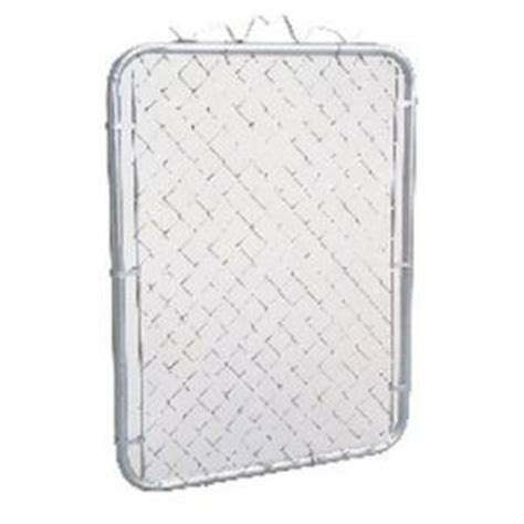 master halco chain link gate post fence at home depot