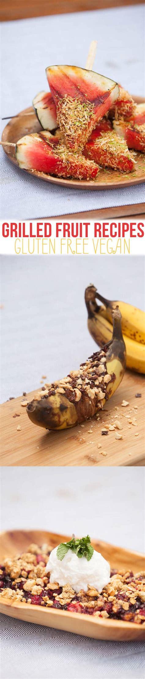 is banana boat gluten free gluten free vegan grilled fruit recipes banana boats