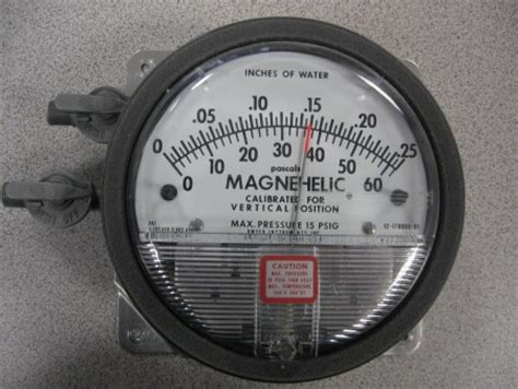Magnehelic 0 500 Pascal p5605 american process and packaging parts inc