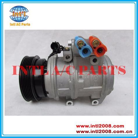 Compressor Compresor Kompresor Ac Kia Carens 2 Denso Ori denso 10pa17c air ac compressor assy hyundai elantra tucson carens sportage 0k2kb61450 97701